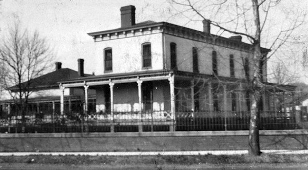 The nurses's quarters in 1884, c/o commercialappeal.com